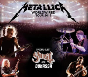 Post Tournée des stades européens avec Metallica
